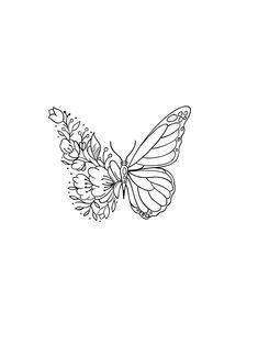 Line Art Tattoos, Mini Tattoos, Flower Tattoos, Body Art Tattoos, Tatoos, Dainty Tattoos, Pretty Tattoos, Beautiful Tattoos, Small Tattoos