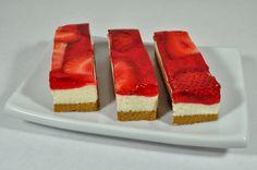 STRAWBERRY CHEESECAKE Easy no bake cheesecake  