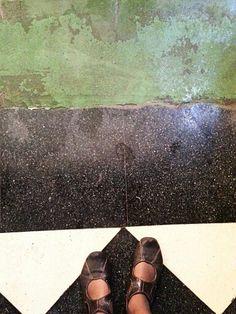 my feet @ el mercado Jerez de la Frontera