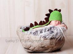 Baby Dinosaur Hat