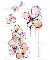watercolour flowers tattoo - Google Search  Repin & Follow my pins for a FOLLOWBACK!