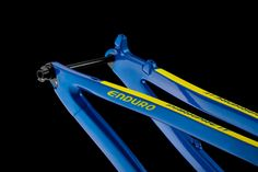 #Enduro #model frame #blue and #yellow