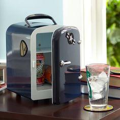 Mini Cooler | PBteen - For his desk?