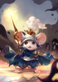 Mouse Warrior - Character Design Challenge by selected artists: Crystal Goh, Nicolas Cortes, Jorge Zapata, Laetitia Caridi, Vincent Bisschop Character Design Girl, Character Concept, Character Art, Cute Creatures, Fantasy Creatures, Cute Characters, Fantasy Characters, Dreamland, Mouse Illustration