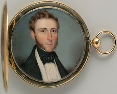 Portrait of a Gentleman Alfred Thomas Agate (1812–1846) Date: ca. 1835 Medium: Watercolor on ivory