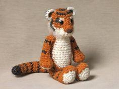 Free Tigger Amigurumi Pattern : Free crochet pattern for tigger by canal crochet toys