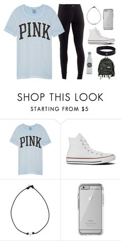 """Club volleyball tryouts tomorrow"" by lorla3407 on Polyvore featuring Victoria's Secret, Converse, OtterBox and lululemon"