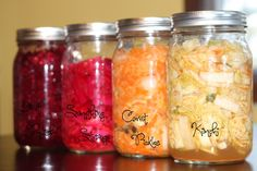 check out these ferments! i really need to make some this year!