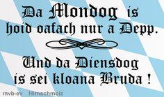 Und koana red übern Mittwoch! - http://www.mvb-ev.de/allgemein/und-koana-red-uebern-mittwoch/