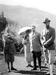 Familie Roerich in Kulu, Indien, 1947 http://www.roerich.websiteportal.de/