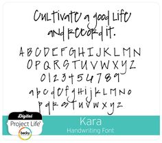 Kara Handwriting Font