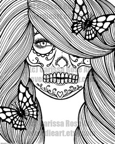 Digital Download Print Your Own Coloring Book Outline Page - Star ...