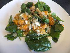 Quinoa, Sweet Potato & Feta Salad (Low FODMAP Recipe) - FODMAP Fun