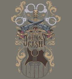 Johnny Cash graphic. Cool.
