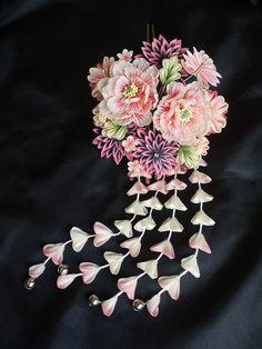 牡丹のかんざしの画像 - 和の結婚式~江戸つまみかんざし~ - Yahoo!ブログ