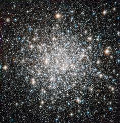 Crowded stellar encampment Messier 68