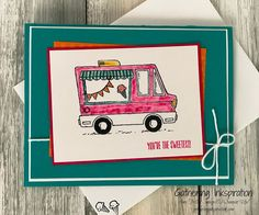 Here's a super-fun card for you today!!   I knew we'd have to make this card at our Sneak Peek Event (which was held last week) as soon a...