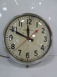 vintage school clock what about a wall of like of these