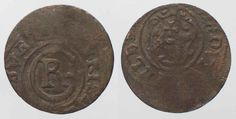 1633-1635 Elbing SWEDISH ELBING Schilling ND(1633-35) CHRISTINA billon VF # 88332 VF Coin Prices, Ss, Coins, German, Personalized Items, Deutsch, German Language