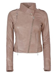 женская куртка из натуральной кожи Blue of Vespucci (Модель:DD43417SS12)