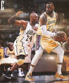 Lakers are so spoiled to have Lebron and Kobe in their lifetime. No more hate, pls. Lebron James Poster, King Lebron James, Lebron James Lakers, King James, Nba Funny, Funny Memes, Nba Memes, Nba Wallpapers, Magic Johnson