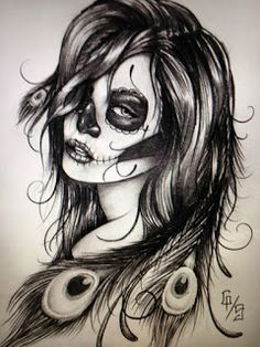 31 Desenhos Catrina | Leles Tattoo