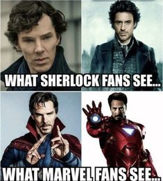 I am also a fan of both these Sherlock's
