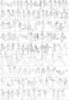 Gesture studies: 94