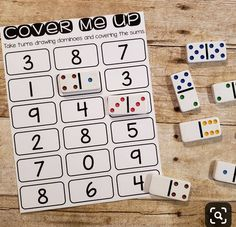 Master math facts can be so tricky. They are important and help make mental math possible but they are so boring and so hard to get to… Numbers Kindergarten, Math Numbers, Kindergarten Math Centers, Kindergarten Addition, Literacy Centers, Math For Kids, Fun Math, Free Math Games, Math Intervention