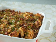 Loaded Baked Potato & Chicken Casserole http://recipes-only.com/loaded-baked-potato-chicken-casserole-2/