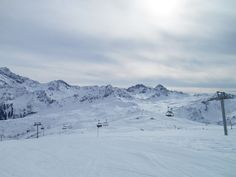 Domaine skiable des Contamines-Montjoie