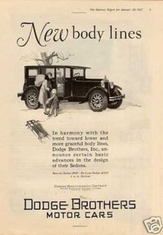 Dodge Brothers Car (1927)