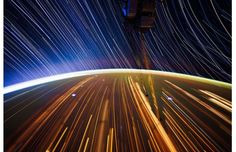 Long Exposure Star Trail Photographs