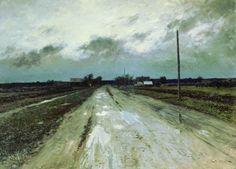 Gloomy Sky (Autumn), Stanislav Zhukovsky