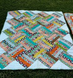 Busy Hands Quilts: Plus Quilt in Island Batiks | Finished or Not Friday Linky Party!