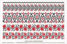 Semne Cusute: Romanian traditional motifs Folk Embroidery, Embroidery Patterns, Stitch Patterns, Time Tattoos, Sleeve Tattoos, Fertility Symbols, Cross Stitch Borders, Moldova, Henna Designs
