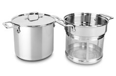 All-Clad Stainless Steel Multi-Function Stock Pot with Mesh Insert 8-quart
