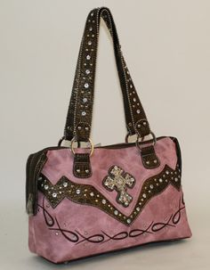 a6463a958e Pink Cross Western Purse Cowgirl Outfits