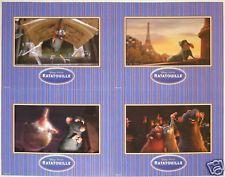 4 Disney Store Presale Lithographs RATATOUILLE '07 MINT