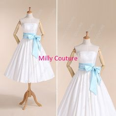 Hey, I found this really awesome Etsy listing at https://www.etsy.com/listing/169575349/vintage-wedding-dress-50s-style