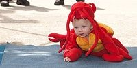 At Maine Lobster Festival. Get 'em while they're young.