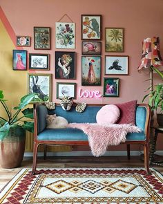 Thank you for sharing these beautiful wall decor including my work! - Thank you for sharing these beautiful wall decor including my work! 👍❤… Thank you for sharing these beautiful wall decor including my work! Eclectic Living Room, Boho Living Room, Eclectic Decor, Home And Living, Living Room Decor, Modern Decor, Eclectic Gallery Wall, Retro Living Rooms, Eclectic Style