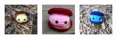 February 25th is Clam Chowder Day. Celebrate with these Cute Critters: Happy as a 'Crocheted' Clam.'
