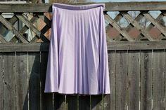 vintage lilac pleated skirt - $24 jloriginals @Etsy