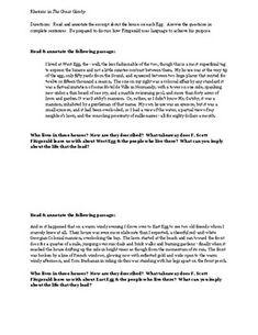Into The Wild Reading Short Essay Reading Quizzes  Tpt  Teachers