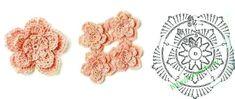 http://crochetpedia.blogspot.ie/2013/03/2d-crochet-flowers-free-patterns.html