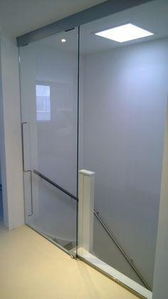 Staircase Design, Attic Remodel, House Styles, New Homes, Home Decor, Wall Railing, Sliding Doors, Steel Doors, Stairs