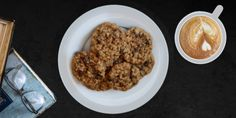 Cinnamon Oatmeal Cookies with Raisins (Gluten Free)