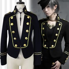 Black Miquri Napoleon Jacket