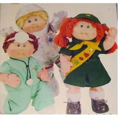 Cabbage Patch Kids Career Outfits